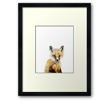 Little Fox Framed Print