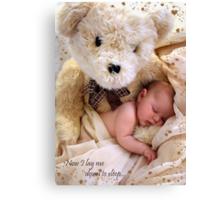 Teddy Bear Dreams Canvas Print
