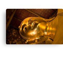 Declining Buddha Canvas Print