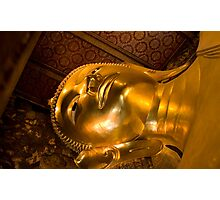 Declining Buddha Photographic Print