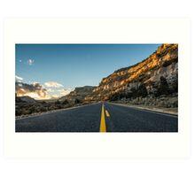 Route 12 - Escalante, Utah Art Print