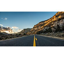 Route 12 - Escalante, Utah Photographic Print