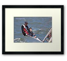 Great hobby / pastime. Great location.  Framed Print