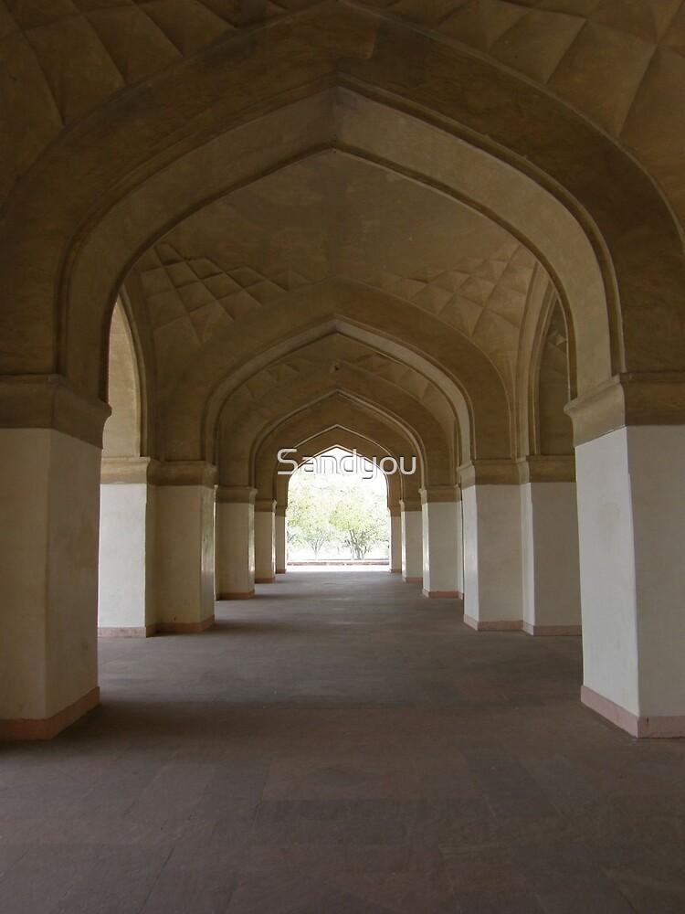 Mughal door ways by Sandyou