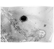 Impact #3 - Black & White Poster