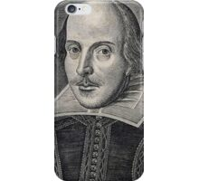 William Shakespeare Portrait iPhone Case/Skin