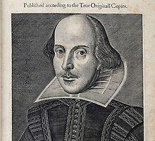 William Shakespeare Portrait by BravuraMedia