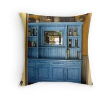 Dubliner Blue Cabinet at Incline Village - Tahoe Throw Pillow