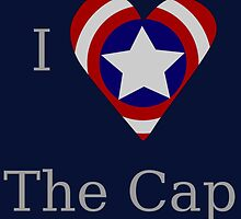 I Heart The Cap by GeekyToGo