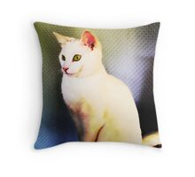 Little Lucy in a Trance Throw Pillow