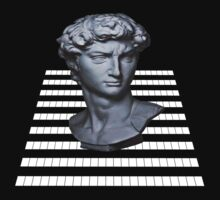 GridHead - Black and White by Unavant-garde