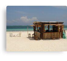 The Beach Bar Canvas Print