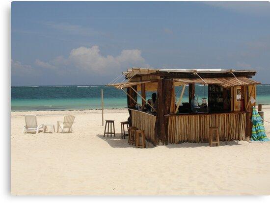 The Beach Bar by Cathy Jones