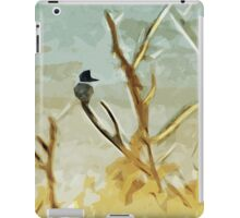 Belted Kingfisher At Rivers Edge iPad Case/Skin