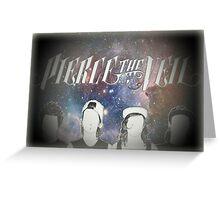 Pierce the Veil Galaxy Print Greeting Card