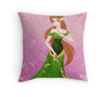 Beautiful Princess Throw Pillow