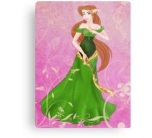 Beautiful Princess Metal Print