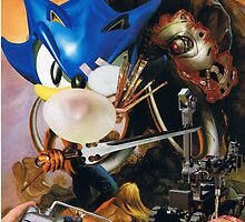 """Sonic the Hedghogs quest for """"Cyber"""" Wooly Mammoth Meat by atomikboy"""