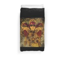 The gears of the Hydra Duvet Cover