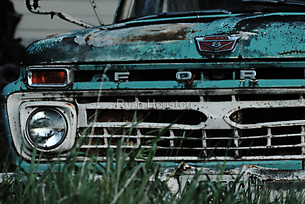 Ford Truck - On the Farm by Ryan Houston