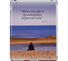 Contemplative iPad Case/Skin