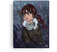 Lara Croft- The Tomb Raider Canvas Print