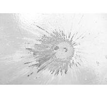 Impact #2 - Black & White Photographic Print
