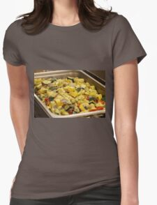 Steamed Vegetables Womens Fitted T-Shirt