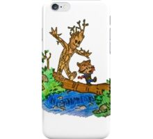 Groot and Rocket iPhone Case/Skin