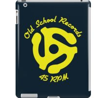 Old School Records iPad Case/Skin