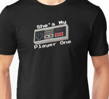 She's My Player One Unisex T-Shirt