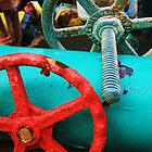 Pipes and wheels by Diana Forgione
