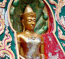 Buddha Niche by Dave Lloyd