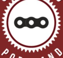 Cycling Portland Logo Sticker