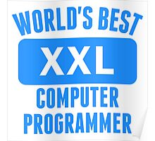 World's Best Computer Programmer Poster