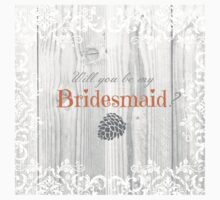 Will you be my bridesmaid? Kids Clothes