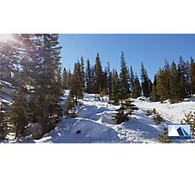 Snowy Scene 1 Photographic Print