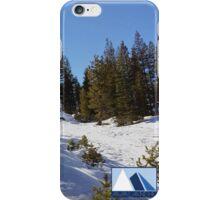 Snowy Scene 1 iPhone Case/Skin