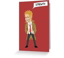 Constantine Chibi(Strewth) Greeting Card