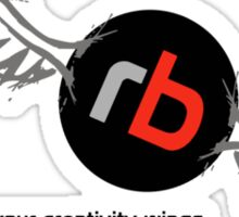 RB Gives You Wings Sticker