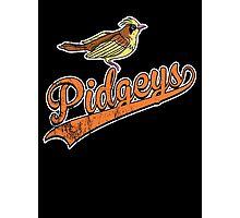 Pidgeys Photographic Print