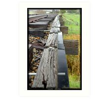 Country Rail,  Art Print