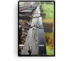 Country Rail,  Canvas Print