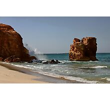 Red Rock, Rock Photographic Print