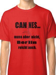 Cannes Berlin (iPhone & Tshirt Design) Classic T-Shirt