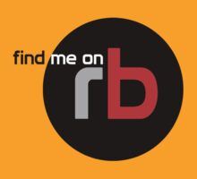 Find Me On rb by BLAH! Designs