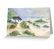 Fisherman's Cottage in South Africa Greeting Card