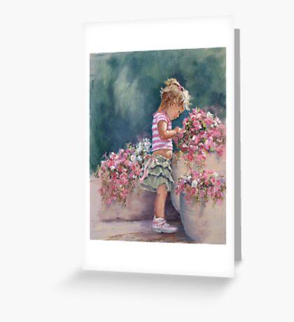 """""""Enchanted"""" Greeting Card"""