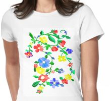 SPRING AGAIN! Womens Fitted T-Shirt