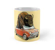 Bison in a Mini Mug
